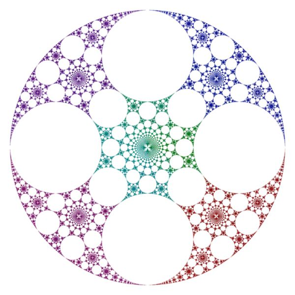 Fractal Circle Circle inversion fractals