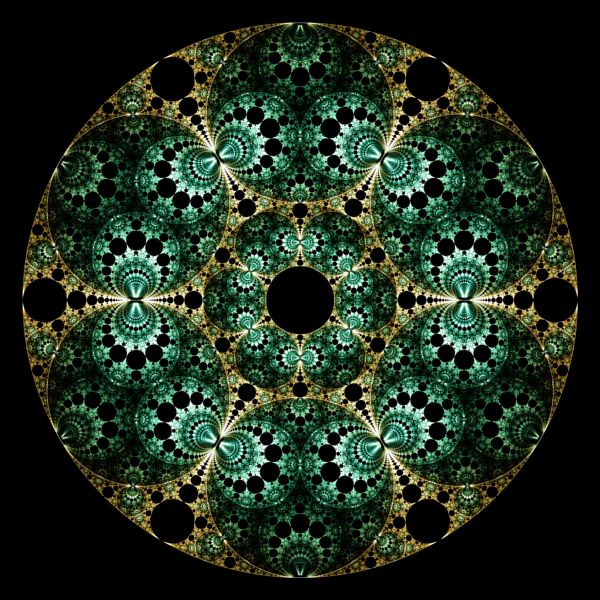 Fractal Circle Fractal mobius patterns