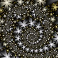 Fractal: Daisy Orbit Trap