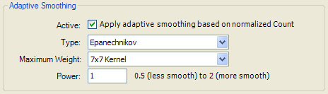 Adaptive Smoothing